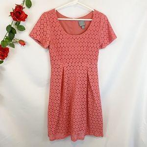 🌼Rabbit Rabbit Rabbit Peach Lacey Summer Sundress
